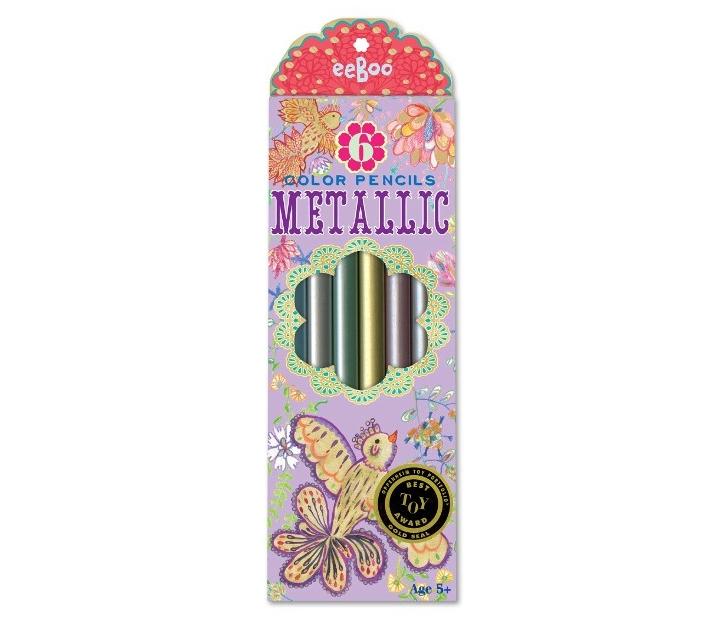 Llapis de colors metal·litzats