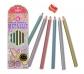 Lápices de colores metalizados