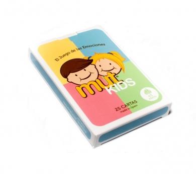 Juego de cartas de las emociones Mut Kids
