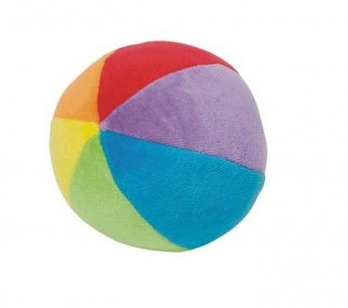 Bola de algodón con sonajero