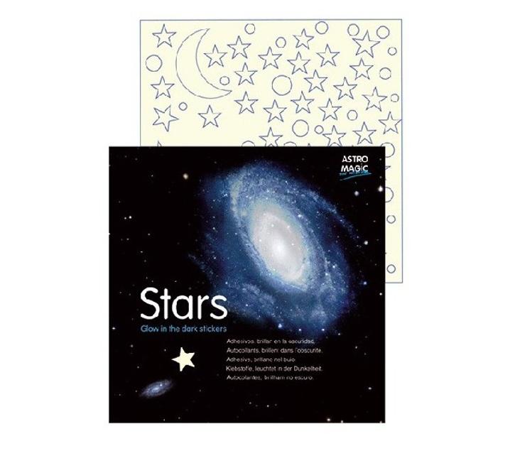 Estrellas adhesivas luminiscentes