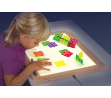 Mesa de luz, sensorial y obrador de arena