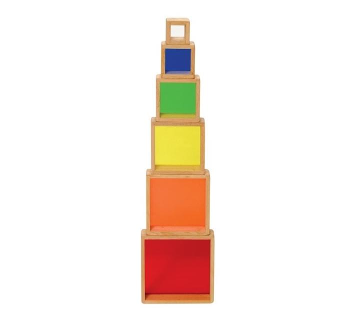 Pirámide arco iris