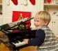 Pequeño piano de cola