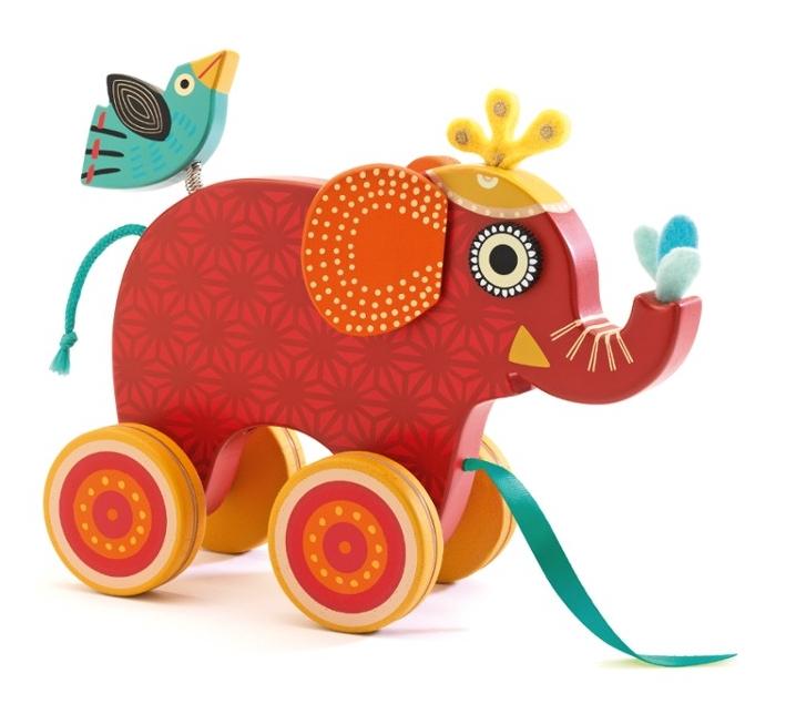 Arrastre elefante Indy