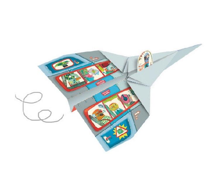 Papiroflexia origami aviones