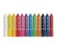 12 lápices pastel gel