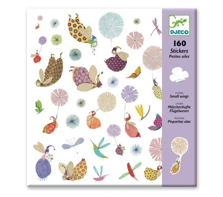 160 adhesius petites ales
