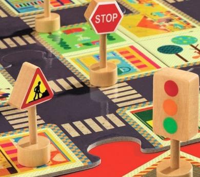 Puzzle para jugar la ciudad