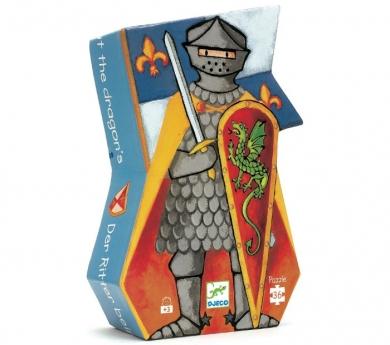 Puzzle caballero medieval