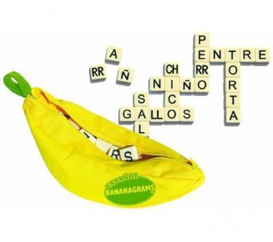 Juego de palabras Bananagrams