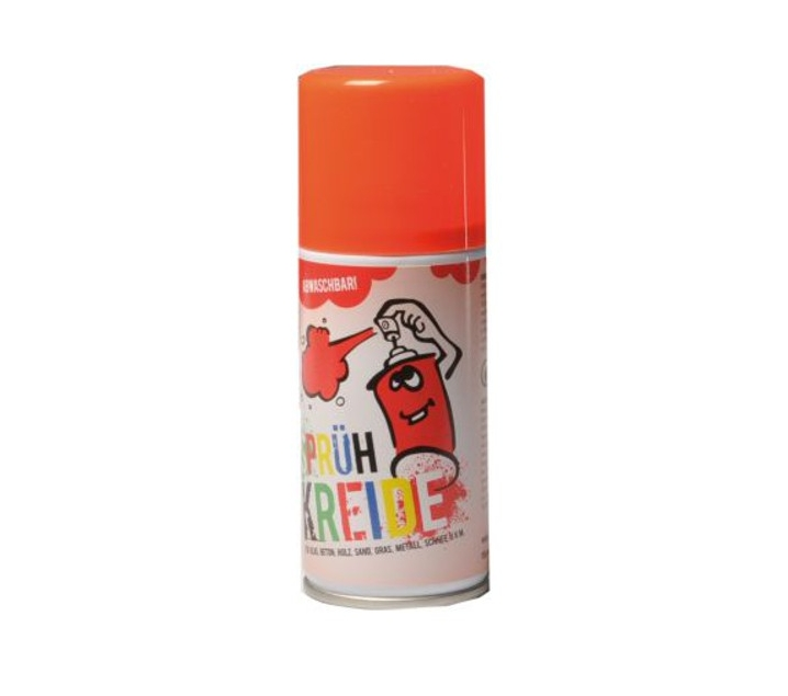 Spray graffiti lavable rojo