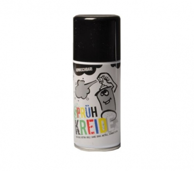 Spray graffiti lavable Negro