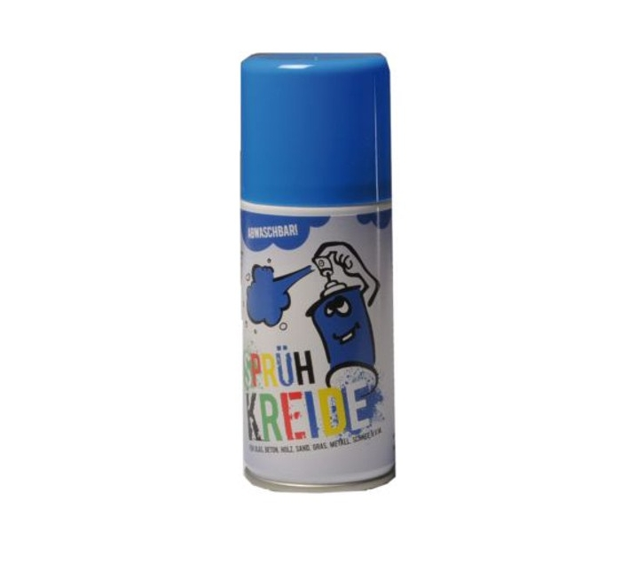 Spray graffiti lavable azul