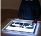 Taula de llum de LEDS portàtil A2
