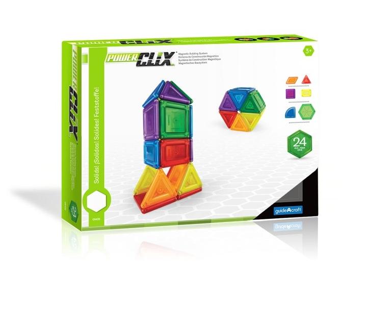 Power Clix sólidos 24 piezas