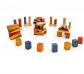 Bloques nature colors bag 50 piezas