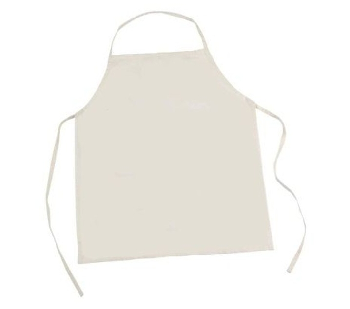 Delantal de cocina para pintar