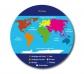 Disc giratori mapa d'Europa
