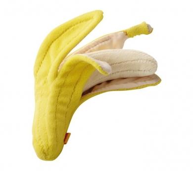 Plátano de juguete para pelar