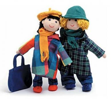 Ropa de invierno para los muñecos Furnis