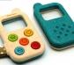 Telefòn de joguina amb lupa