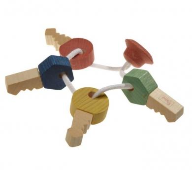 Llaves de madera BIO para bebés