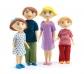 Muñecos articulados Familia Gaspar y Romy