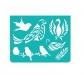 Miniplantillas de pájaros