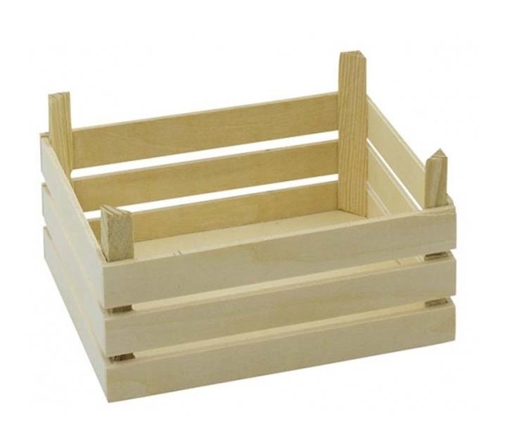Conjunt de 3 caixes petites de fusta