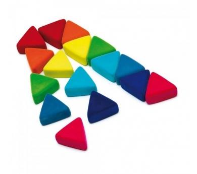 Triángulos sensoriales Rubbablox