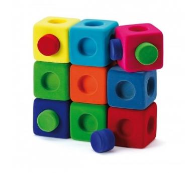 Cubs per construir i encaixar Rubbablox