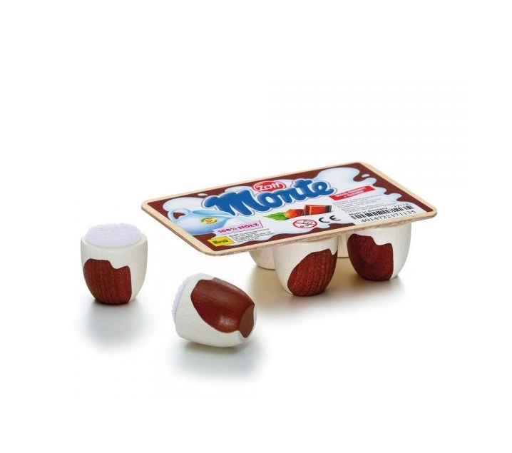Petit Suisse de juguete de madera
