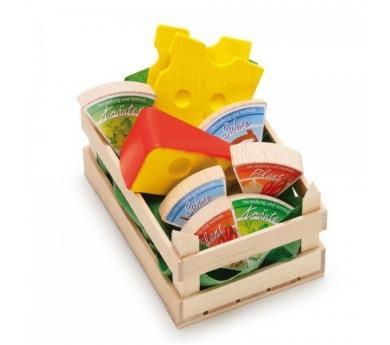 Assortiment de formatges de joguina