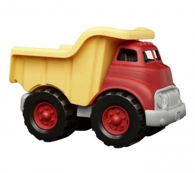 Camió de càrrega de fusta reciclada
