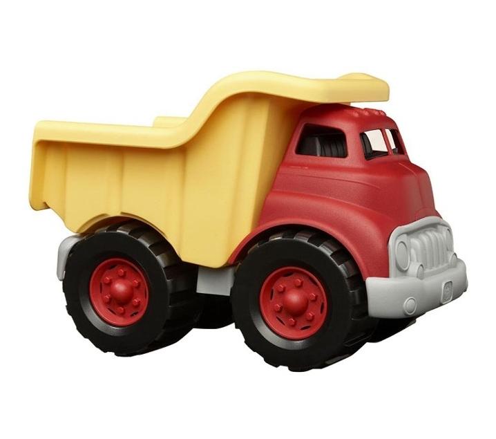 Camión de carga de plástico reciclado
