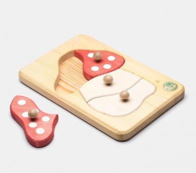 Puzzle de Madera con encajes