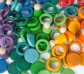 Nins, anillas y monedas 120 pieazas