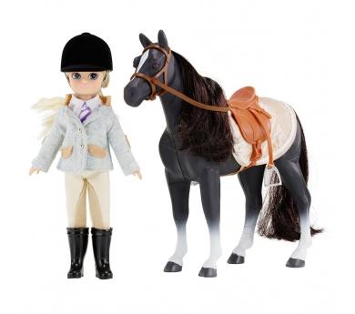 Lottie con caballo