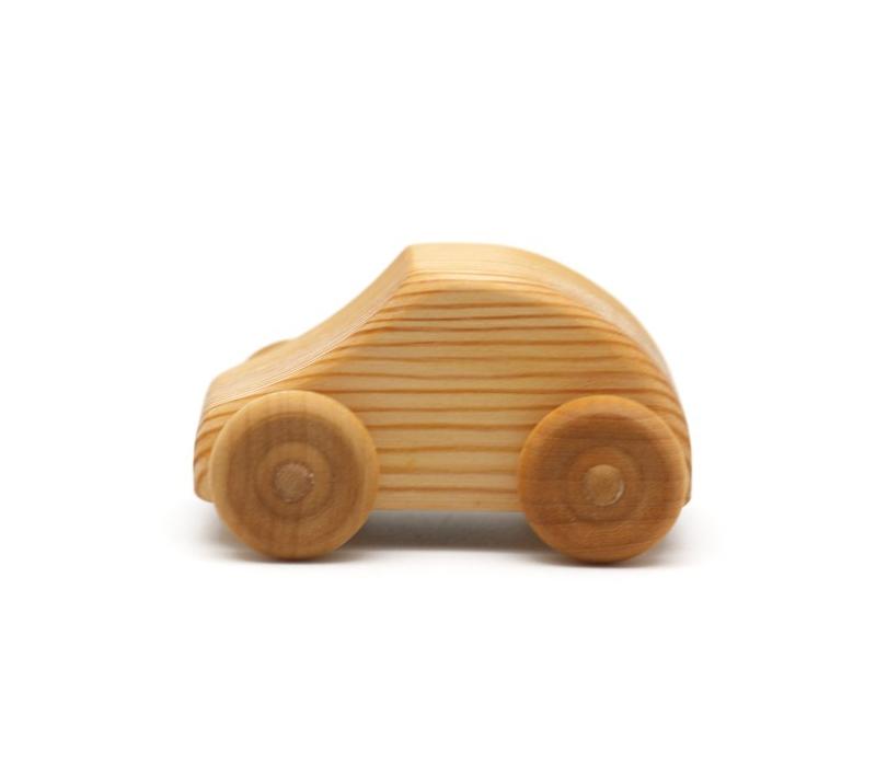 Coche Peque 241 O Mini Fiat De Madera