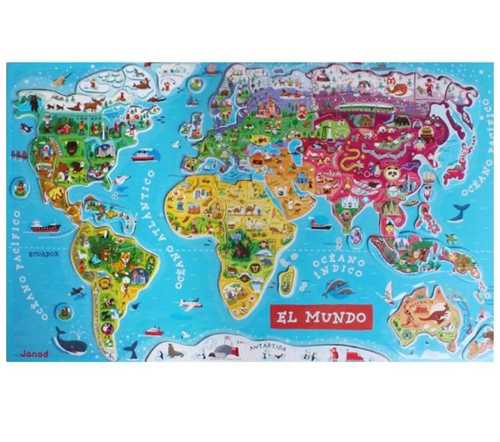 mapa mundi magnetico mapamundi magnetico en espanol mapa mundi magnetico