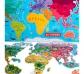 Mapamundi magnético en español