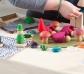 Caja de juego y base para construcciones