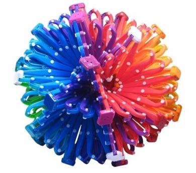 Mega esfera Hoberman colores