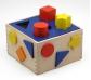 Caja de formas y colores para encajar