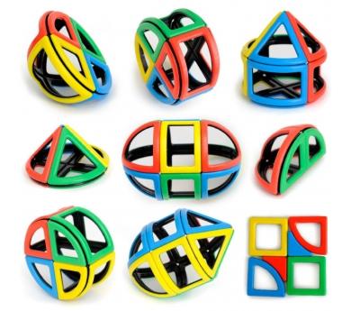 Polydron magnético esfera 72 piezas