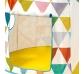Cabaña de juego circular colours