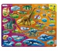 Puzzle animales a través del tiempo