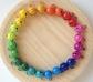 Cascabeles arco iris