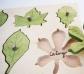 Juego de encajes hojas